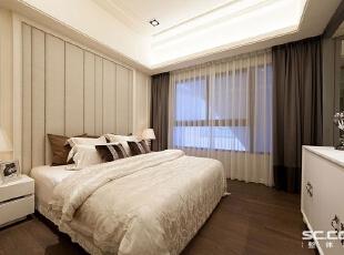 ,113平,15万,新古典,三居,卧室,白色,