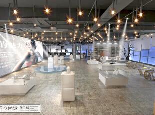 国际珠宝设计·创客空间展厅,1380平,100万,混搭,公装,