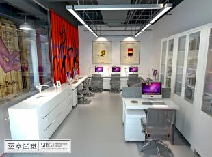 国际珠宝设计·原创基地办公室内效果,1380平,100万,混搭,公装,现代,简约,白色,原木色,黑白,新古典,小资,宜家,美式,