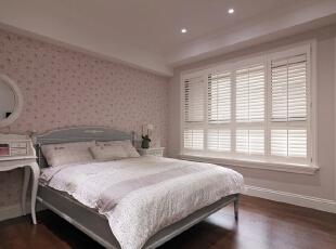 ,130平,5万,美式,三居,卧室,粉红色,