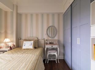 ,130平,5万,美式,三居,卧室,白色,