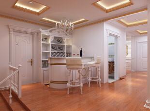,190平,25万,欧式,三居,客厅,白色,