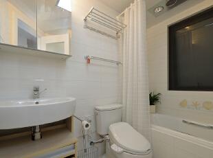,100平,7万,现代,三居,卫生间,白色,