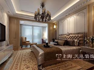 锦艺国际华都89平3室2厅现代简约装修案例——卧室装修效果图,89平,6万,现代,三居,卧室,黄白,
