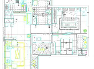 锦艺国际华都89平三室两厅现代简约装修户型图,89平,6万,现代,三居,