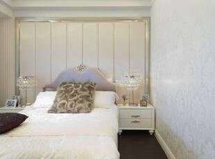 ,260平,50万,新古典,四居,卧室,白色,