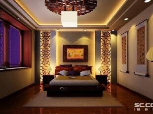 厨房设计: 灯箱材质的背景墙,光线不那么刺眼,是一种装饰,亦一个采光系统,两者兼用,不失是一个很有用途的设计,也是屋主门很喜欢的一个设计。,146平,12万,中式,三居,