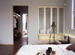 ,120平,110万,现代,两居,卧室,白色,