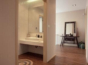 长虹和悦府-现代两居-实创装饰 二居室