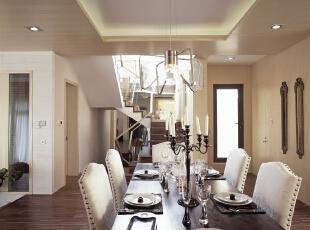 ,120平,110万,现代,两居,餐厅,白色,