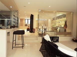 ,现代,两居,客厅,黄白,