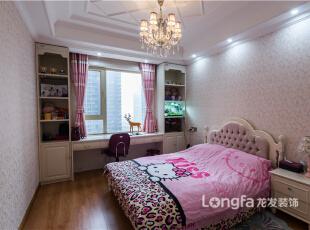 ,200平,8万,欧式,四居,卧室,粉红色,