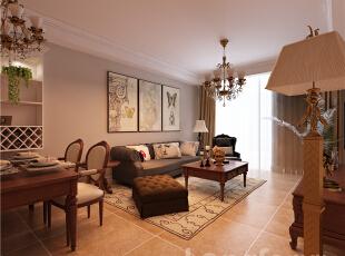 ,89平,3万,现代,两居,客厅,原木色,白色,黄色,