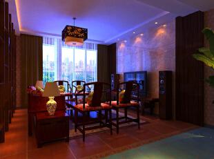 ,160平,15万,中式,三居,客厅,现代,简约,原木色,