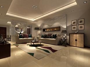 一层的客厅从繁杂的简单、从整体到局部、精雕细琢打造每一个细节体验。设计师不在拘泥于中式风格的形式,只用意境表明中式的中庸、方正、移步换景的思想,一丝不苟中充满时尚感。,133平,60万,中式,别墅,客厅,白色,