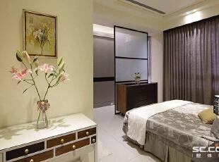 ,131平,15万,现代,三居,卧室,白色,