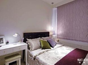 ,131平,15万,现代,三居,卧室,粉红色,