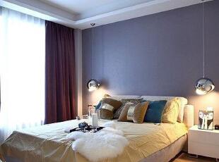 ,110平,13万,简约,两居,卧室,紫色,白色,