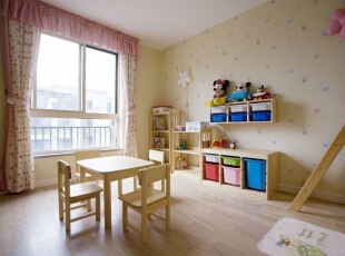 ,195平,28万,地中海,别墅,卧室,春色,粉红色,