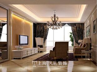 郑州雅居乐145平四室两厅简欧风格装修效果图--客厅,145平,14万,欧式,四居,客厅,黄白,