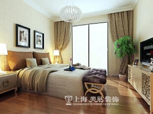 雅居乐E1户型145平四室两厅简欧风格装修效果图--次卧,145平,14万,欧式,四居,卧室,黄白,