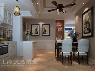 天骄华庭89平方三室两厅简约美式风格装修案例——厨房,89平,美式,三居,原木色,