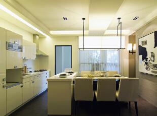 ,220平,45万,别墅,现代,厨房,白色,