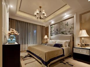 ,130平,90万,现代,公寓,卧室,白色,