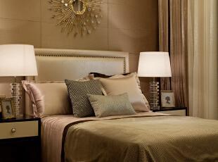 ,130平,90万,现代,公寓,卧室,咖啡色,白色,