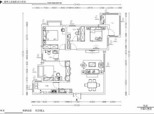 西安城市人家装饰公司│中国铁建国际城128㎡现代简约风格现代都市小资生活,128平,6万,现代,三居,