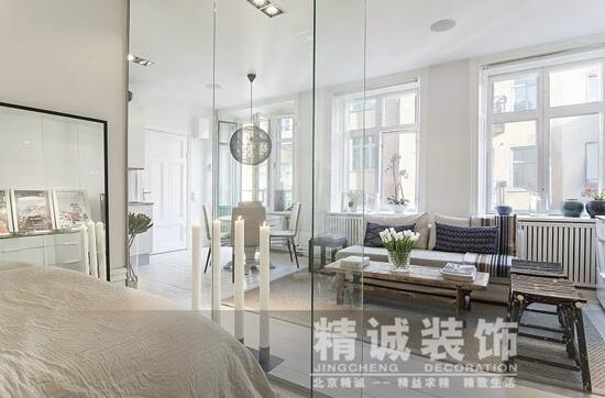 现代简约混合欧式经典,将装修如画般的呈现在房间的每个角落.