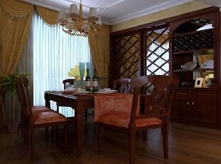 ,150平,10万,欧式,三居,餐厅,原木色,