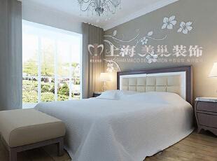 润城129平三室两厅混搭卧室装修效果图,简单的装饰,没有繁杂,休息,真的不需要想太多。,129平,7万,混搭,三居,卧室,