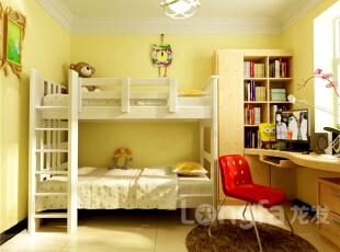 ,134平,4万,现代,三居,卧室,原木色,黄色,