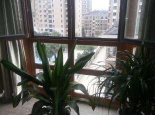 阳台外景,160平,60万,欧式,三居,阳台,黄色,绿色,