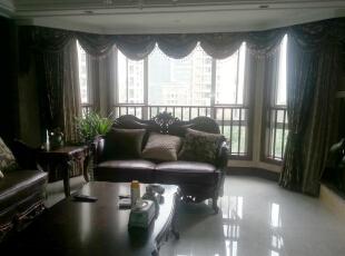 客厅,160平,60万,欧式,三居,餐厅,白色,黄色,红色,