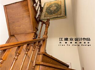 ,300平,80万,美式,别墅,客厅,原木色,
