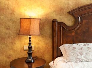 ,300平,80万,美式,别墅,卧室,原木色,黄色,