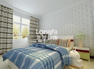 石家庄维多利亚199㎡户型新中式风格装修效果图案例,199平,12万,中式,四居,卧室,白色,