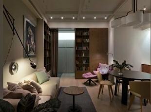 ,91平,13万,美式,两居,客厅,白色,