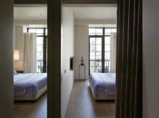 ,91平,13万,美式,两居,卧室,白色,