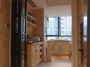 ,200平,20万,四居,现代,厨房,白色,
