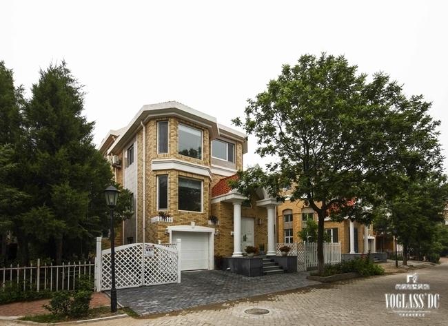 名都园-260.0平米别墅美式风格-谷居家居装修设计效果