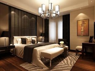 ,120平,15万,现代,三居,卧室,黑白,