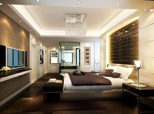 ,460平,30万,现代,别墅,卧室,黑白,