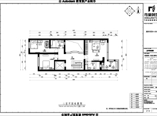 二层是儿童房和客卧的主要空间。因此在结构上并未做较大的改动,只在别墅空间设计和别墅配饰设计花费较大心思,产生较多创意。,400平,60万,中式,别墅,