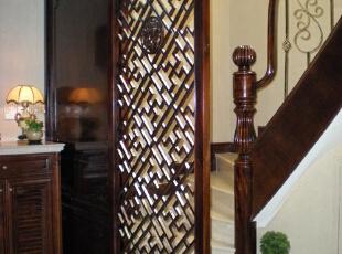 玄关,240平,60万,混搭,复式,玄关,褐色,