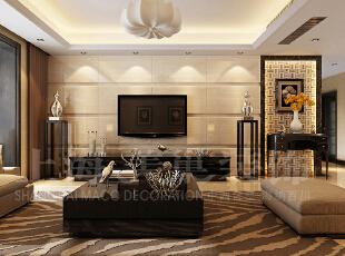 天地湾127平三室两厅简欧风格装修效果图 :客厅,127平,6万,欧式,三居,客厅,黄白,