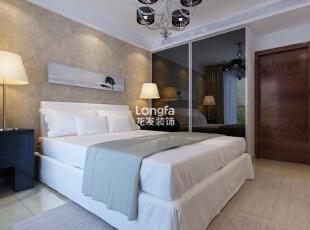 ,100平,3万,现代,两居,卧室,浅棕色,白色,