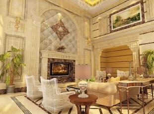 ,320平,45万,欧式,别墅,客厅,